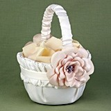 Hortense B Hewitt Love Blooms Collection Flower Girl Basket