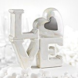 Hortense B Hewitt Porcelain LOVE-Design Cake Topper (2 Colors)