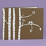 Hortense B Hewitt Personalized Birch Trees Guest Book