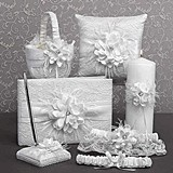 Hortense B Hewitt Layers of Lace Collection Wedding Accessories Set
