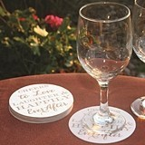 Cheers to Love Laughter & Happily Ever After Coasters (Set of 25)