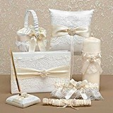 Hortense B Hewitt Splendid Elegance Collection Wedding Accessories Set