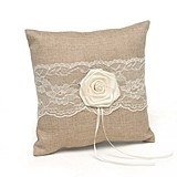 Hortense B Hewitt Rustic Country Collection Ring Bearer Pillow