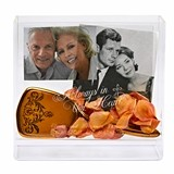 "Personalized ""Always in Our Heart"" Memorial Box Frame"
