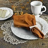 Laser-Cut-Lace Kraft-Paper Place Mats (Package of 12)