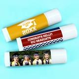 Ducky Days Personalized Lip Balm in White Tube (Graduation Designs)