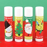 Ducky Days Personalized Lip Balm in White Tube (Holiday Designs)