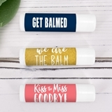 Ducky Days Personalized Catchy Sayings Lip Balm in White Tube