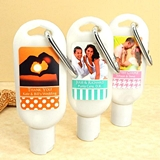 Picture Perfect Photo Personalized SPF30 Sunscreen Bottle w/ Carabiner
