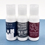 Personalized Silhouette Collection Hand Lotion (21 Colors; 56 Designs)