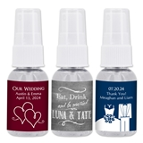 Personalized Silhouette Collection 1oz Hand Sanitizer (56 Designs)