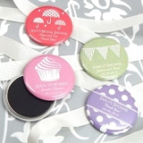 Personalized Round Glossy-Finish Magnets (Silhouette Designs)