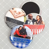 Picture Perfect Photo Personalized Round Glossy-Finish Magnet