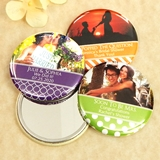 Picture Perfect Photo Personalized Glossy-Topped Compact Mirror
