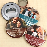 Ducky Days Photo Personalized Glossy Disc-Shaped Bottle Opener
