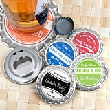 Personalized Vintage Bottle Cap Design Bottle Opener (8 Designs)