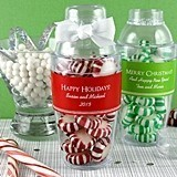 Personalized Holiday Cocktail Shakers (18 Colors)