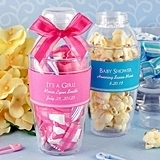 Personalized Baby Shower Cocktail Shaker Favors (18 Colors)