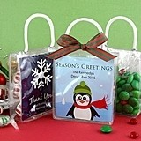 Personalized Holiday Mini Gift Totes (24 Designs)