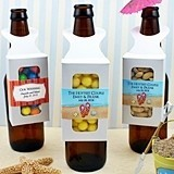 Personalized Bottle-Hanger Party Favor Boxes
