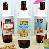 Personalized Bottle-Hanger Party Favor Boxes