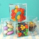 Perfectly Plain Collection Clear Acrylic Box with Removable Lid