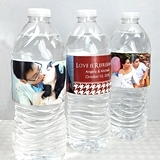 Picture Perfect Photo Personalized Water Bottle Labels (Set of 5)