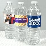 Graduation Designs Personalized Water Bottle Labels (Set of 5)