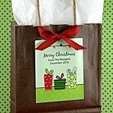 Personalized Large Rectangular Holiday Labels (24 Designs) (Set of 6)