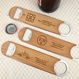 Ducky Days Monogrammed Wood Paddle Bottle Opener (8 Designs)