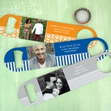Custom Picture Perfect Photo Stainless Steel Paddle Bottle Opener