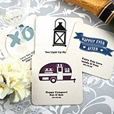 Personalized Square White Paper-Board Coasters (125 Designs)