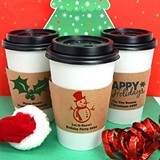Ducky Days Personalized Insulated Cup Sleeves with Holiday Designs