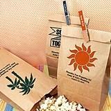Personalized Kraft-Paper Goody Bags (125 Designs)