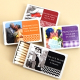 Custom Picture Perfect Photo Matches in White Matchbox (Set of 50)