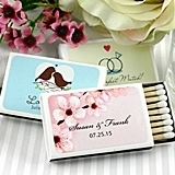Personalized Matchboxes (52 Designs) (Set of 50)