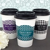Ducky Days Personalized Cup Sleeves with Silhouette Collection Designs
