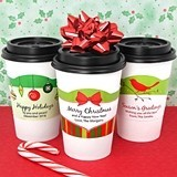Ducky Days Personalized Cup Sleeves with Holiday Designs