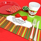 Joyful Personalized Holiday Placemats