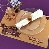 Personalized Kraft-Paper Placemats (125 Designs)