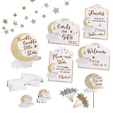 Lillian Rose Twinkle Twinkle Little Star Baby Shower Decor Set