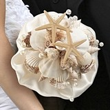 Lillian Rose Coastal Seashell Bouquet