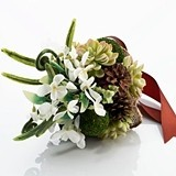 Lillian Rose Enchanting Flowers and Moss Bouquet