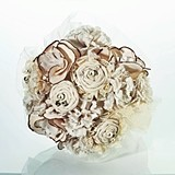 Lillian Rose Cream-Colored Country Casual Bouquet