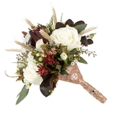 Lillian Rose Gold-Colored Jeweled Bouquet Holder