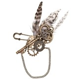 Lillian Rose Steampunk-Inspired Boutonniere
