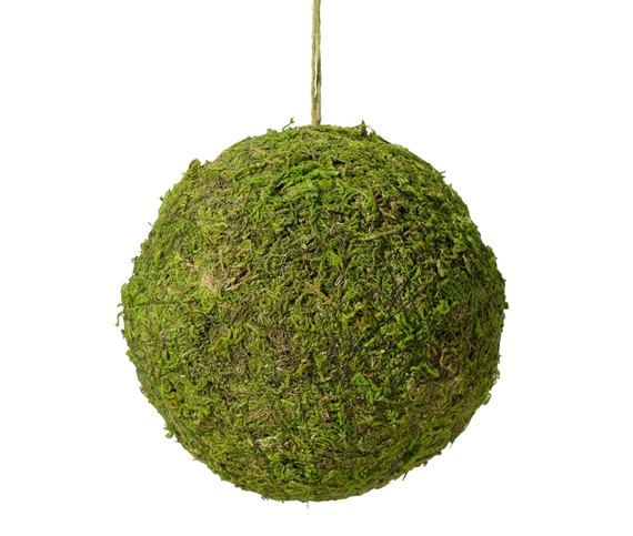 Lillian Rose Moss decor Hanging Ball