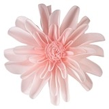 "Lillian Rose Faux Pink 7 1/2"" Flower Decorations (Set of 2)"