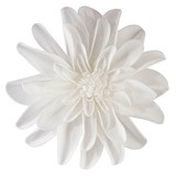 "Lillian Rose Faux White 7 1/2"" Flower Decorations (Set of 2)"