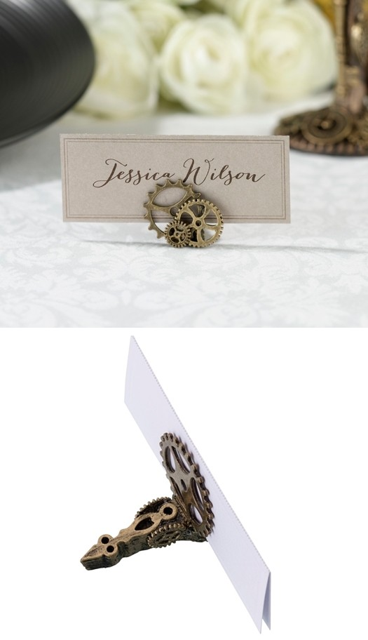 Lillian Rose Steampunk-Inspired Place Card Holders (Set of 4)